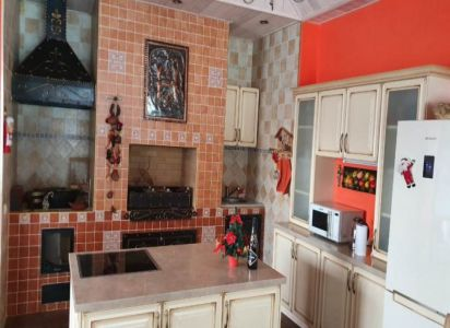 Кухня в доме отдыха