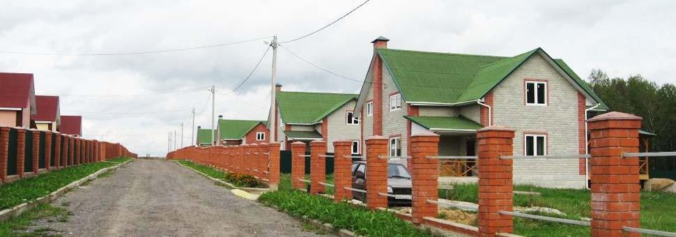 Дома и участки в коттеджном посёлке Алёшкины рассветы 2Калужское шоссе, 60 км от МКАД, все коммуникации